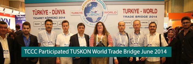 TCCC Participated TUSKON World Trade Bridge