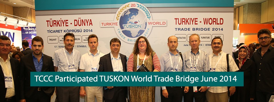TCCC Participated TUSKON World Trade Bridge