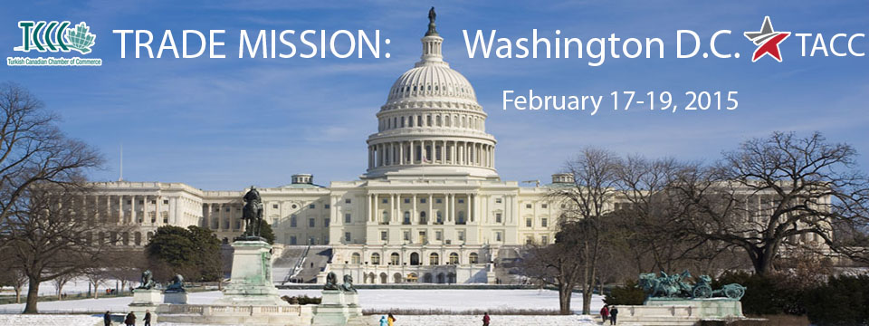 Trade Mission: Washington D.C. Feb.17-19, 2015