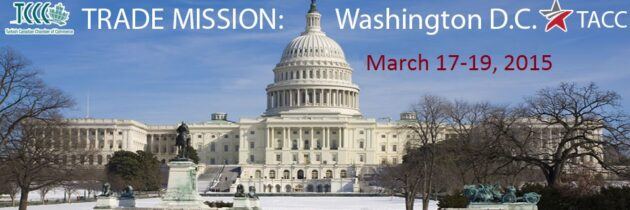 Trade Mission: Washington D.C. Mar.17-19, 2015