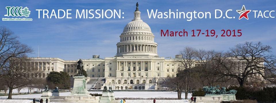 Trade Mission: Washington D.C. Mar.17-19, 2015
