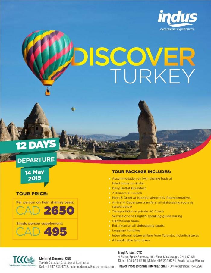 Discover Turkey Trip to Turkey