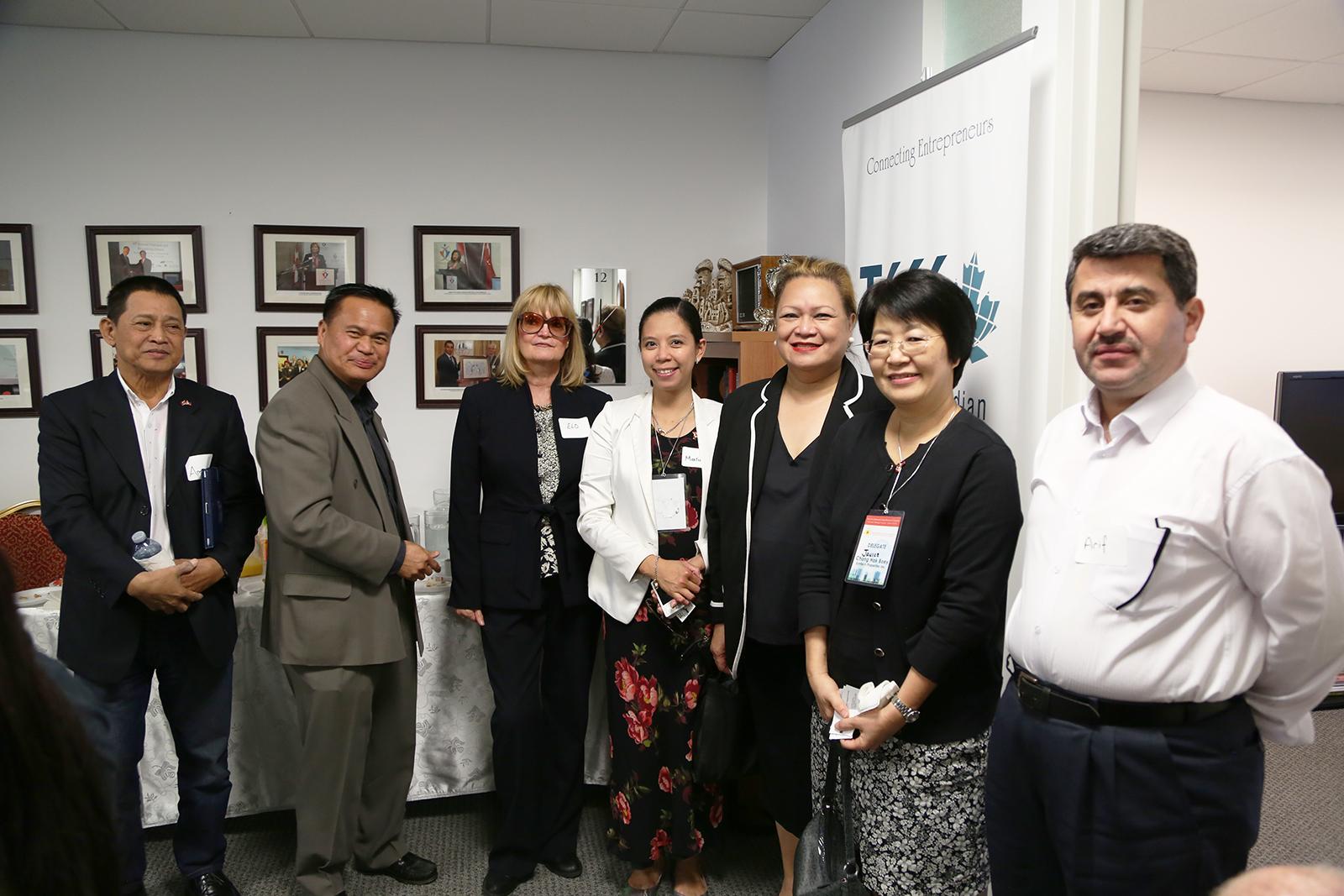 Turkish Philippines Business Reception Toronto
