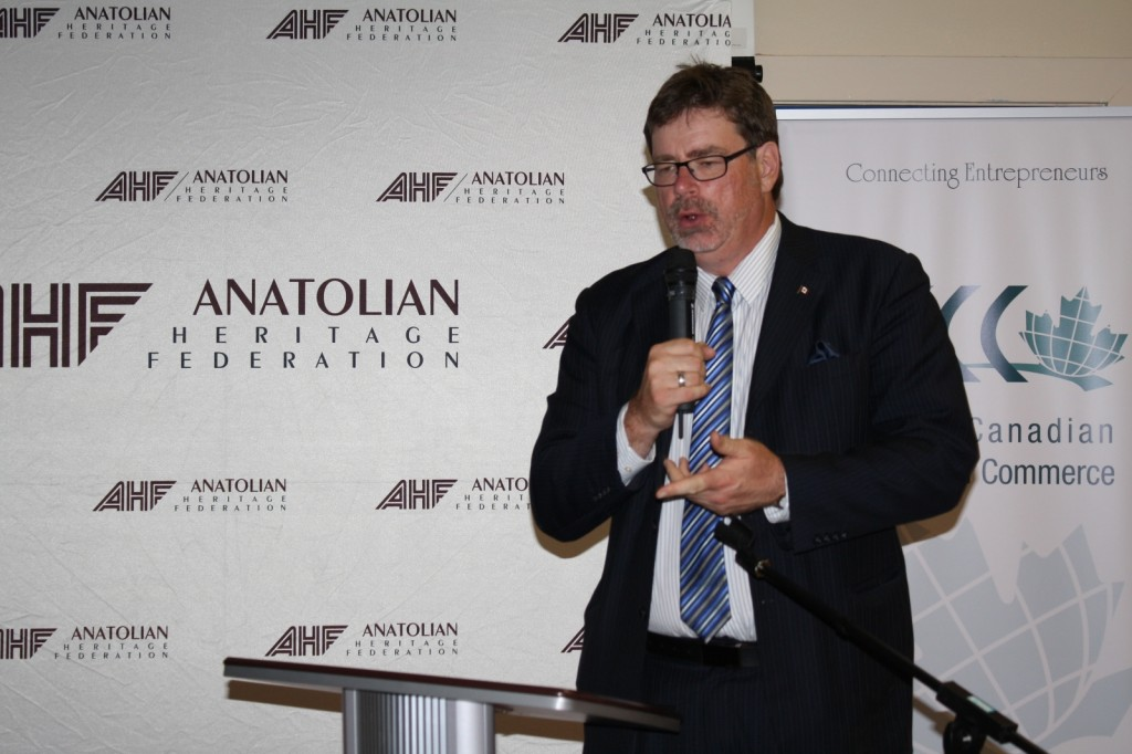 Brent Rathgeber, MP for St.Albert-Edmonton during his remark at first networking event