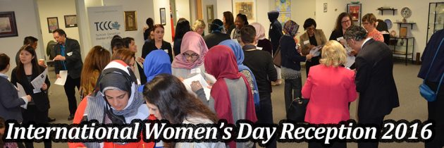 International Women's Day Reception 2016