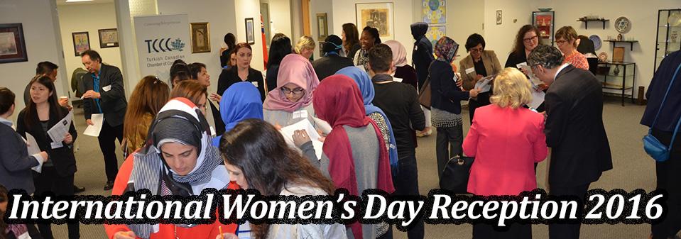 International Women's Day Reception 2016